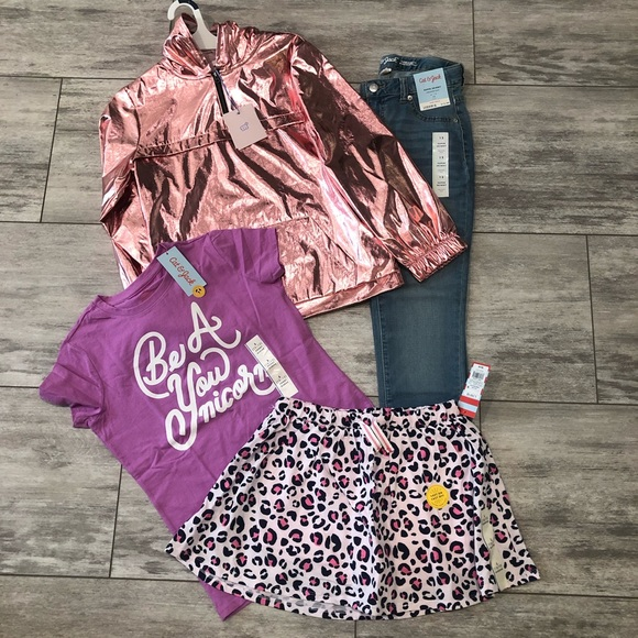 Cat & Jack Other - Girls NWT LOT  4/L/2